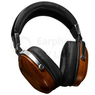 50mm walnut wooden headphone shell B7