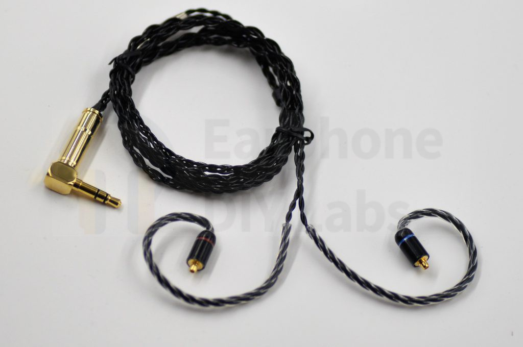 Silver Plated 6N OFC MMCX cable