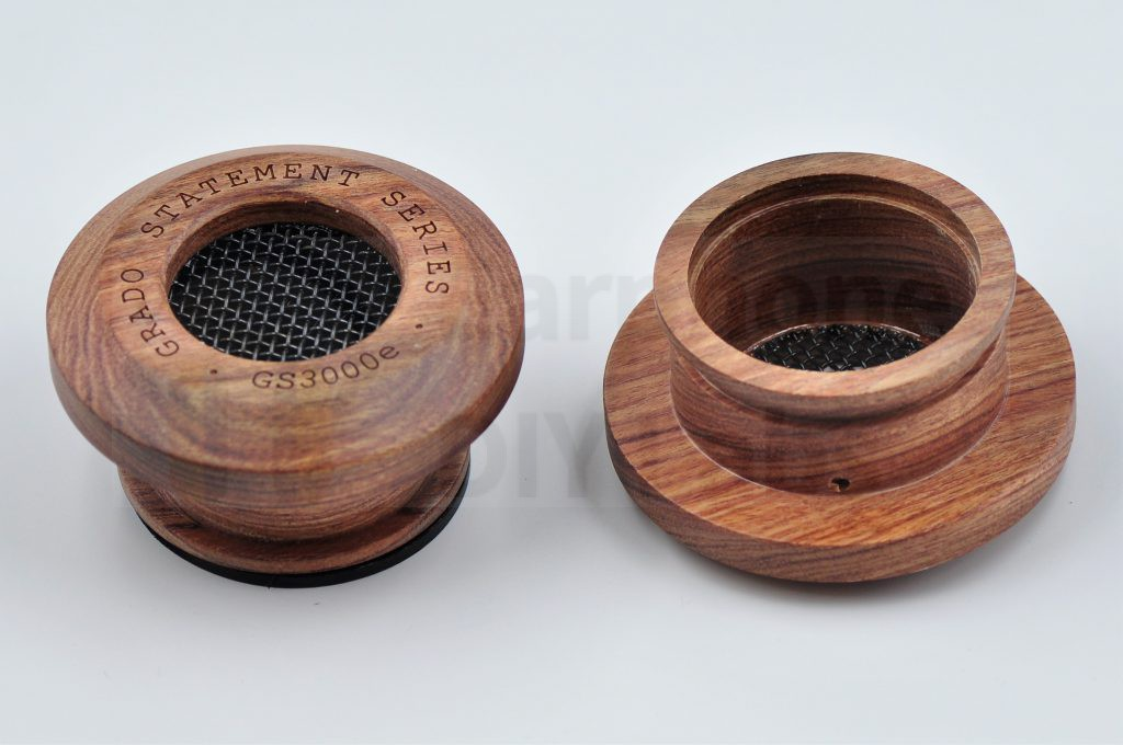 Grado GS3000e Compatible Mahogany Wood Cup