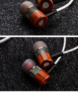 Brazil Rosewood In-Ear Close End Earphone Shell for 10mm driver unit