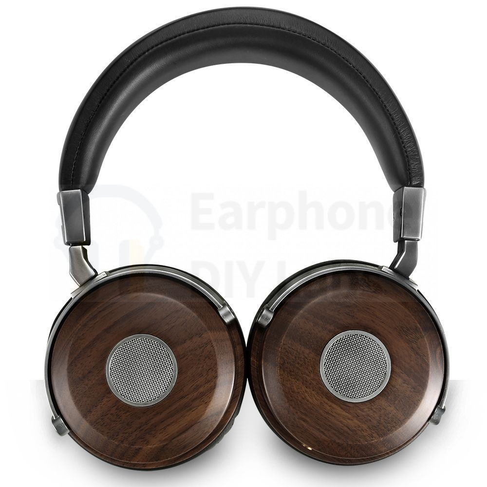 50mm walnut wooden headphone shell B5
