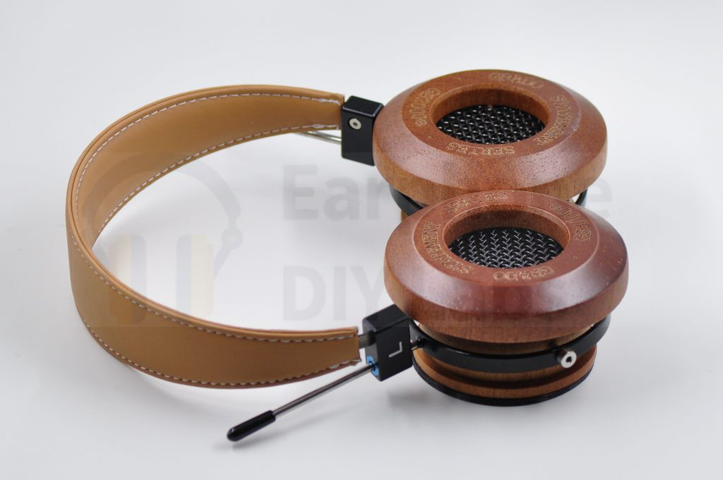Brown headband with metal (Aluminum) lockers